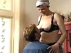 Mature tasting cum after hard sex
