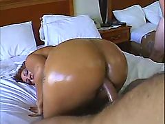 Busty oiled mature fucking in group