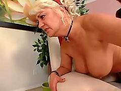 Beautiful aged lady fucked by black guy